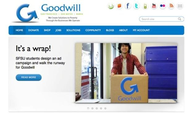 Soc marketing making the goodwill cool the homa files for Is goodwill a non profit organization