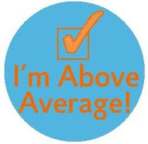 Im above average