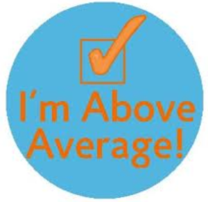Im above average
