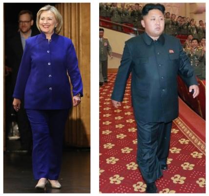 Hillary - kim Jung-un