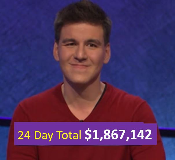 Jeopardy Math: What's The Most Money That A Contestant Can